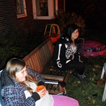 Youth Group Members on Bonfire Night